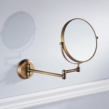 Double Side Magnification Mirror for Makeup Cosmetic Bathroom Use Antique
