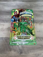 Power Rangers Time Force Green TF Fighter Power Ranger Figure Bandai Toy Japan