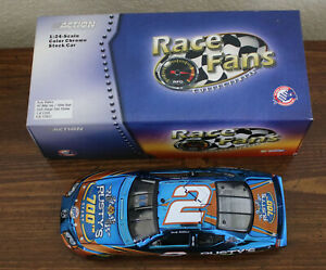 Rusty Wallace #2 Miller Lite / 700th Start - 1:24 Action Color Chrome 2005