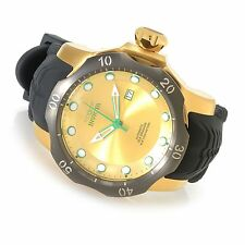 19315 Invicta 52mm Mens Venom Sea Dragon Automatic SS Case Silicone Strap Watch
