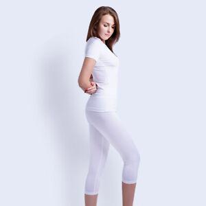 ARMEDES Yoga Capri Pants Waist Tummy Control Compression Base Layer AR 272