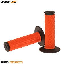 Rfx de doble densidad Grips soft-mid compuesto Naranja Negro Motocross Enduro