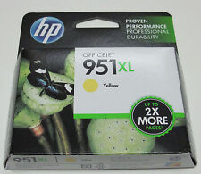 Genuine HP 951 XL high yield yellow ink for Officejet Pro 8600 Plus Premium