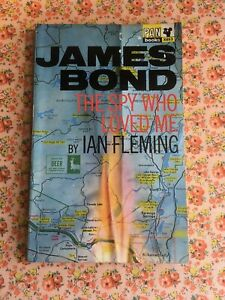 Vintage Pan Paperback Book The Spy Who Loved Me Ian Fleming James Bond 1960s