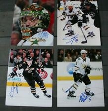 Lot of 4 Autographed Dallas Stars 8x10 Photos  Bachman Ott Oleksiak Niskanen