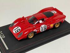 1/18 AB Models Ferrari 312P 1969 24 Hours of LeMans car  #19 model #01 of 150
