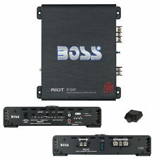 Boss Audio Systems Riot R1100M Single Channel Car Amplifier - Black