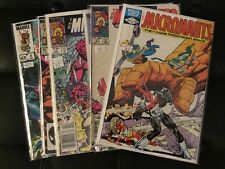 The Micronauts Comic Book Lot Of 6