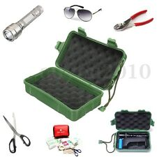Waterproof Plastic Case Shockproof Outdoor Survival Container Storage Carry Box