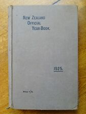 New Zealand Official Year-Book 1925 (Hardback, 1924)