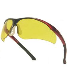 Amber Sports Style Safety Glasses / Solar