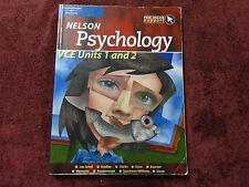 Nelson PSYCHOLOGY VCE Units 1 and 2 **
