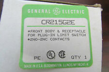 Ge General Electric Cr215G2E Front Body & Receptacle for Plug In Limit Switch