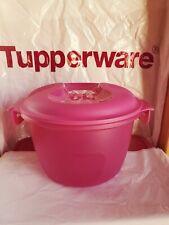 Tupperware Beautiful New  Fuchsia  Pink Microwave Rice Cooker2.2L