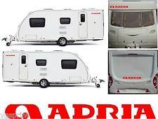 Adria Caravane 4 Pièces Kit Décalque Autocollant Graphique Choix de Couleurs Du