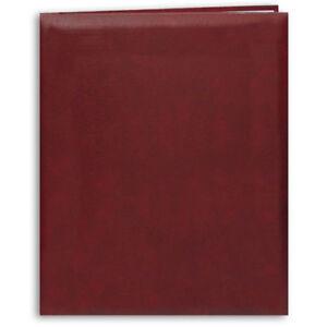 Pioneer MB-811 8-1/2x11 EZ Load Memory Book Burgundy (Same Shipping Any Qty)