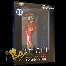 "Batman LAWYER HARLEY QUINN Animated GALLERY 9"" Vinyl PVC Figure DIAMOND SELECT!"