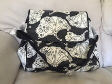 Nwt/New Pottery Barn Kids Fanfare City Black/White Diaper Bag