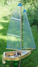 Yacht Bob A Bout Boat Model Wooden boat kit with sails