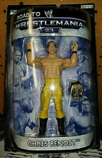 """WWE Road to Wrestlemania 23 Collection__CHRIS BENOIT 6 """" action figure_New & MIP"""