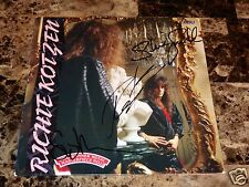 Richie Kotzen Signed Vinyl Stu Hamm Steve Smith Journey Winery Dogs Poison + COA