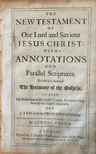 1690 Holy Bible Large Folio Leaves (Printed by J. Rawlins)-YOU CHOOSE THE LEAF