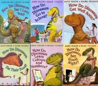 How Do Dinosaurs 6 Books Children Pack Paperback Set By Jane Yolen & Mark Teague