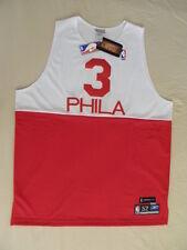 Reebok Allen Iverson Authentic Philadelphia 76ers Sixers jersey 52 2XL NWT TBTC