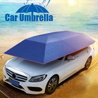 Portable Semi-automatic Control Car Umbrella Roof Cover Tent Waterproof Anti UV