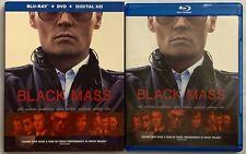 BLACK MASS BLU RAY DVD 2 DISC SET + SLIPCOVER SLEEVE BUY IT NOW FREE SHIPPING