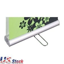 """3pcs 33""""W x 79""""H Double Sided Roll Up Banner Stand High Quality US Stock"""