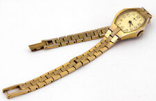 LUCH Band Bracelet Gold Tone Russian Fashion Old Mechanical Watch USSR 1801.1