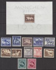 Deutsches Reich 1936-1944 lot cavalli ** Post fresco Marrone & Nastro Blu 139,--