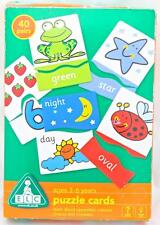 40 Pairs Opposites Colours Shapes & Numbers Flash Cards Game Picture Word Age 3+