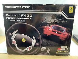 Thrustmaster Ferrari F430 Racing Wheel Force Feedback Read Description Preowned