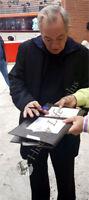 Cartolina autografata da Remo Girone Signed - Asta di beneficenza Charity Cinema