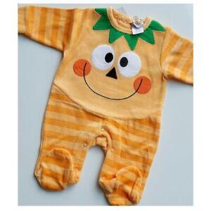 Halloween Pumpkin Baby Costume - Sleepsuit - Boy Girl Unisex
