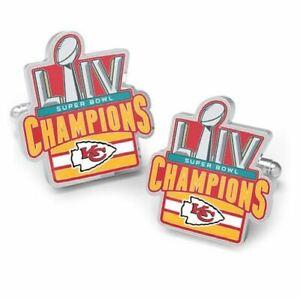 2020 Kansas City Chiefs Super Bowl Champions Cufflinks