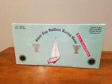 Vintage 1987 Silver Cup Sailboat Racing Game Deluxe Limited Edition