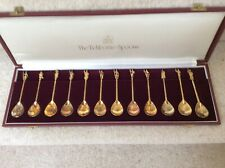 Heritage Collection of silver gilt Celebrity Tichborne spoons