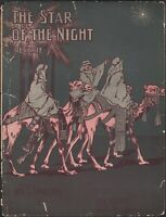 1905 Three Wise Men sheet music The Star Of the Night piano solo Camels Egyptian