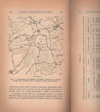 GEOLOGIA_CARTOGRAFIA_STORIA LOCALE GEOLOGICA ITALIANA_IMPONENTE RARA COLLEZIONE