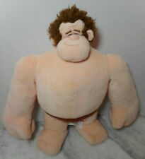 """Wreck It Ralph Plush Stuffed Doll 16"""" Disney No Clothes Good Used Condition"""