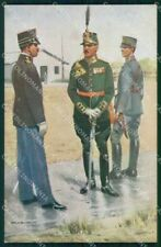 Military Soldiers Royal Dutch Army Van Oorschot 5 cartolina XF9175