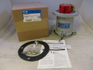 CROUSE HINDS CDR20044RS 200AMP 4W 4P RECEPTACLE REVERSE SERVICE ADR20044RS