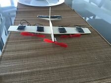 Solar Airplane Kit with 3 Motor propellers & 6 Solar panels and 23g Aeroplane!!