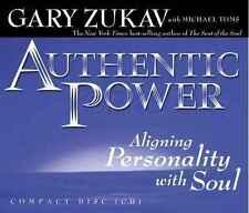 NEW CD Authentic Power Gary Zukav Michael Toms