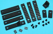 G&P URX III Rail Cover Set (Short, Black) GP-COP037A for Airsoft toys