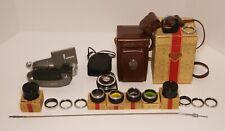 Rolleiflex Tessar f3.5 75mm Zeiss-Opton lens. Clean glass Good condition. Model4