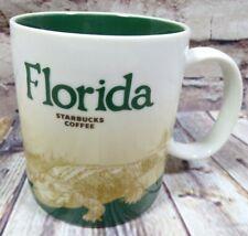 Starbucks Florida Gator 2010 Global Icon Collector Series Coffee Cup Mug 16oz